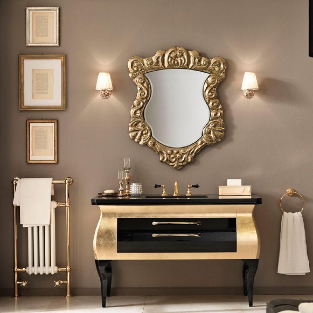 Włoskie ekskluzywne meble łazienkowe i konsole umywalkowe MIA ITALIA