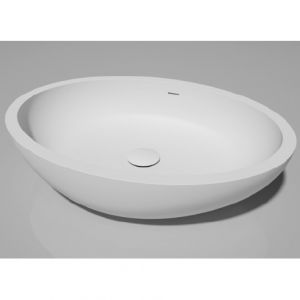 DIMASI BATHROOM Pearl Prl0312 Umywalka kompozytowa owalna