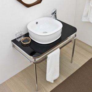 ARTCERAM Azuley AZA003 Blat pod umywalkę biały lub czarny
