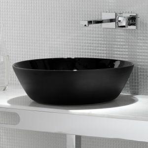 EXT Wet Umywalka nablatowa okrągła czarna
