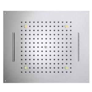 BOSSINI H38907 Deszczownica 570x470 mm RGB LED chromoterapia