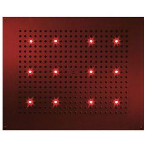 BOSSINI H37455 Deszczownica 570x470 mm RGB LED chromoterapia