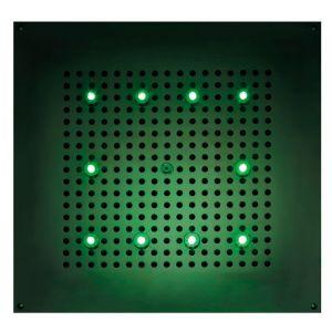BOSSINI H37456 Deszczownica 470x470 mm RGB LED chromoterapia