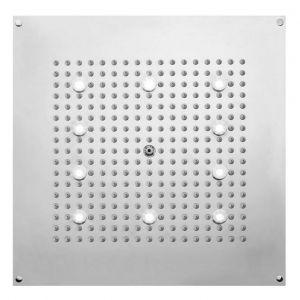 BOSSINI H37453 Deszczownica LED kwadratowa 470x470 mm