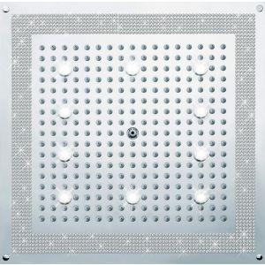 BOSSINI H37453050 Deszczownica LED 470x470 mm Swarovski
