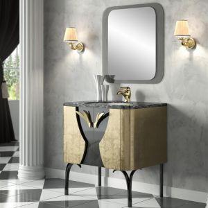 MIA ITALIA Cipria 05 Szafka stojąca z umywalką