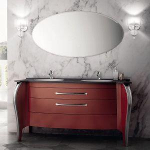 MIA ITALIA Belvedere 01 Szafka stojąca z podwójną umywalką