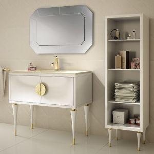 MIA ITALIA Novecento 03 Ekskluzywna szafka stojąca z umywalką