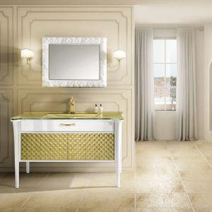 MIA ITALIA Charlotte 04 Szafka stojąca z umywalką szklaną