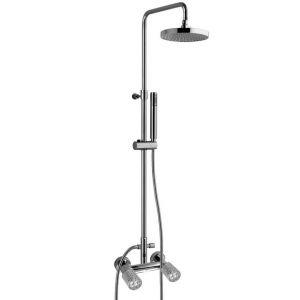 MAIER Kryos 78415D200 Kolumna prysznicowa z deszczownicą 200mm