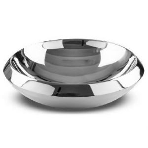 CIPI Wok 83C Umywalka ze stali nierdzewnej metalowa okrągła
