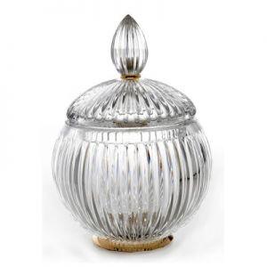 3SC Elegance EL048A Pojemnik higieniczny stojący kryształ