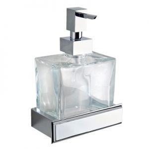 3SC Bellezza BE01D Dozownik na mydło ścienny szkło