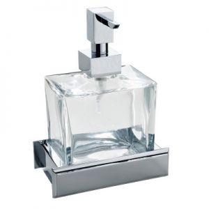 3SC Bellezza BE01DA Dozownik na mydło stojący szkło