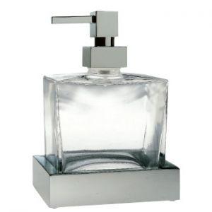 3SC SK20 SK01D Dozownik na mydło ścienny szkło