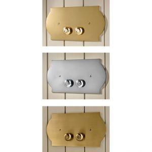 MIA ITALIA Canterbury Przycisk spłukujący chrom, złoty, brąz, miedź, nikiel