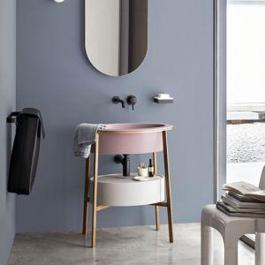 CERAMICA CIELO Catino Ovale Drawer Umywalka stojąca z szufladą