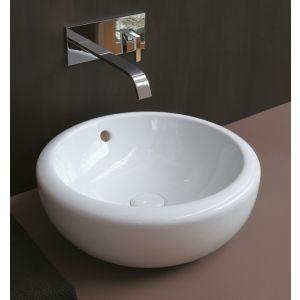 CERAMICA CIELO Fluid FLLAA60 Nowoczesna okragła umywalka łazienkowa