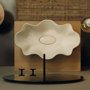 VITRUVIT Seastar SEALAA Oryginalna umywalka nablatowa biała
