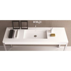 MOMA DESIGN Planar Table Nowoczesna konsola umywalkowa z Corianu