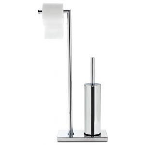 3SC SIMO52 Stojak łazienkowy ze szczotką wc i uchwytem na papier