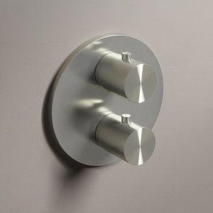 HOTBATH Archie AR009 Bateria prysznicowa stal nierdzewna szczotkowana