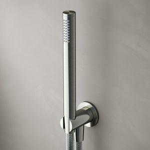 HOTBATH Archie AR440 Zestaw prysznicowy stal nierdzewna szczotkowana