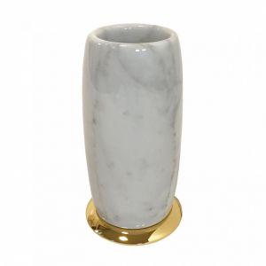3SC Elegance Bianco EL03BC Pojemnik stojący z marmuru