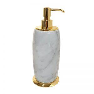 3SC Elegance Bianco EL01DBC Dozownik stojący z marmuru