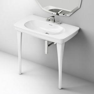 ARTCERAM Civitas CIL002_CIC002 Konsola umywalkowa ceramiczna