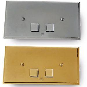 3SC Square Plaque SQL00 Przycisk spłukujący chrom, złoty, brąz, miedź, nikiel