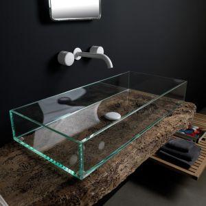 GSG CERAMIC DESIGN Glass GLLA80 Umywalka ze szkła nablatowa