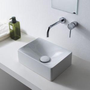 SCARABEO Soft 1503 Mała umywalka nablatowa 30x22 cm
