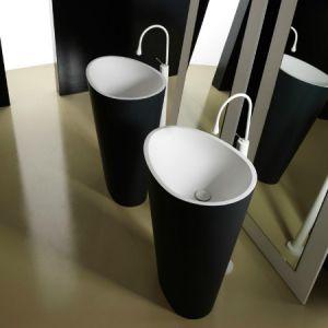 MASTELLA DESIGN Body Umywalka wolnostojąca czarna biała
