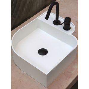 EXT Nouveau Oryginalna nowoczesna umywalka nablatowa 45 cm