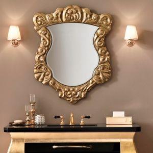 MIA ITALIA Dalia Nietypowe lustro czarne, złote, srebrne, różne kolory