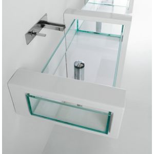 GSG CERAMIC DESIGN Glass Gllame60 Umywalka